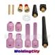 Torch 9/20/25 Gas Lens Setup Accessory Kit