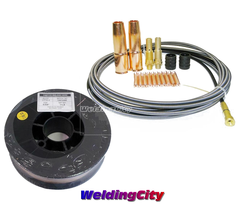 Mig Welding Wire ER70S-6 .023 .030 .035 on 10 lbs Spool 1 PK